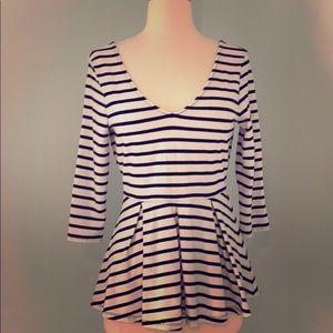 Victoria secret striped top